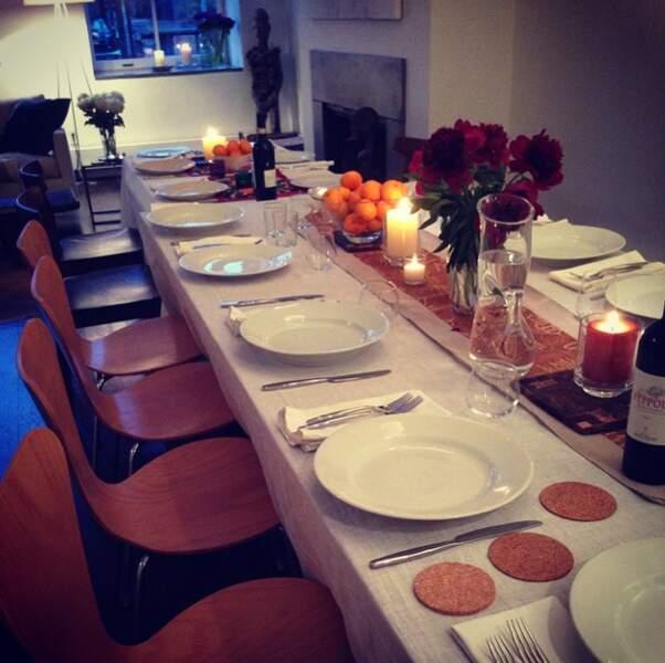 La table élégante, mais sans chichis, de Lucy Liu