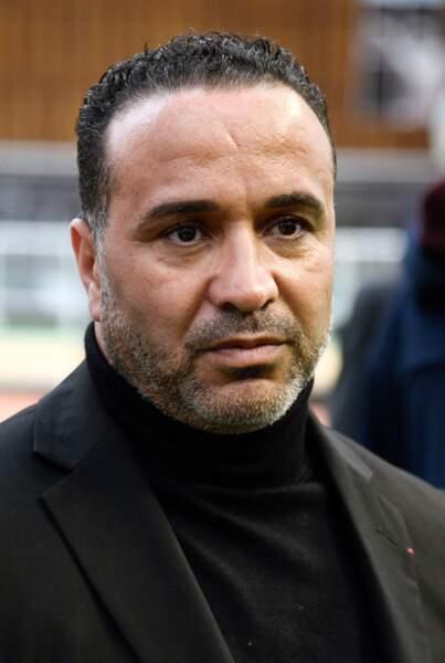 Ghani Yalouz , ex-lutteur et patron de l'équipe de France d'ahtlétisme