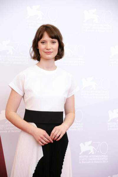 Mia Wasikowska, héroïne de Tracks, présenté le 29 août
