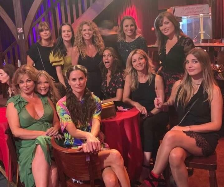 Quant aux actrices des Mystères de l'amour, elles étaient heureuses de se retrouver !