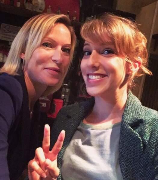 Rebecca Hampton et Léa François, alias Céline et Barbara de Plus belle la vie, ravies de tourner ensemble