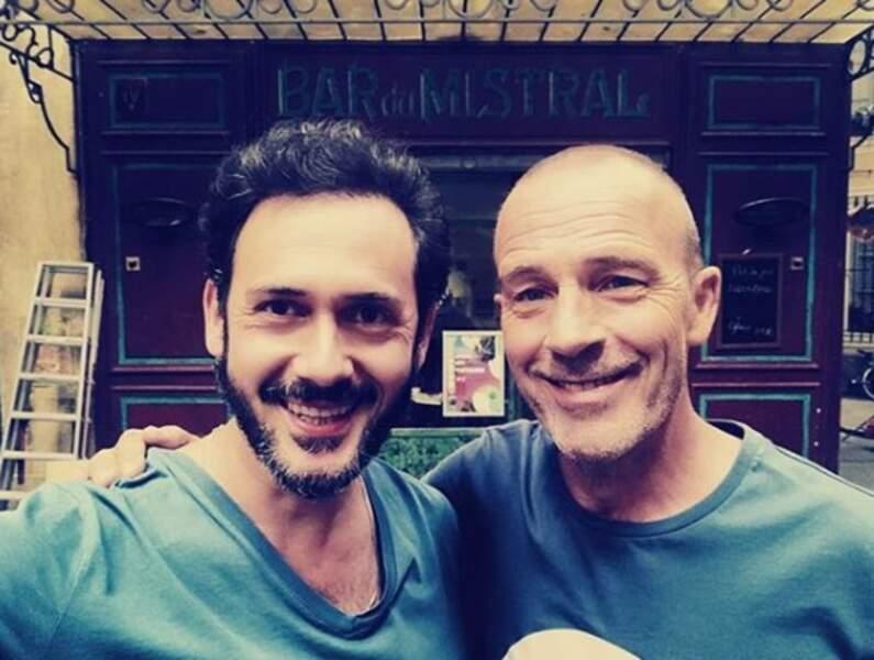 Emanuele Giorgi (Francesco) et Pierre Martot (Léo) se sont bien trouvés sur Plus belle la vie