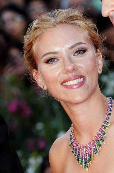 Un beau sourire de Scarlett