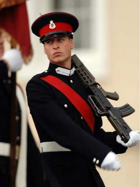 William a choisi une carrière militaire