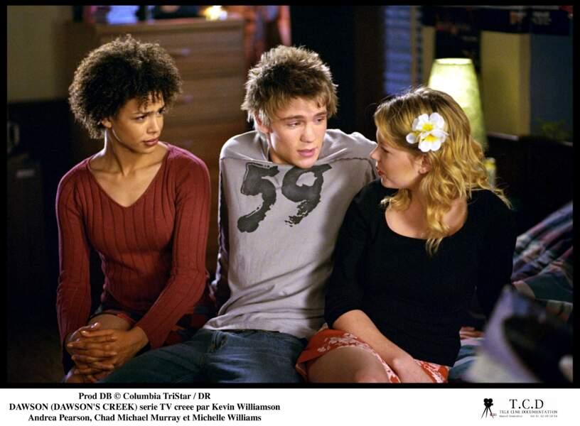 Chad Michael Murray a trouvé dans Dawson l'un de ses premiers rôles (baptisé Charlie)