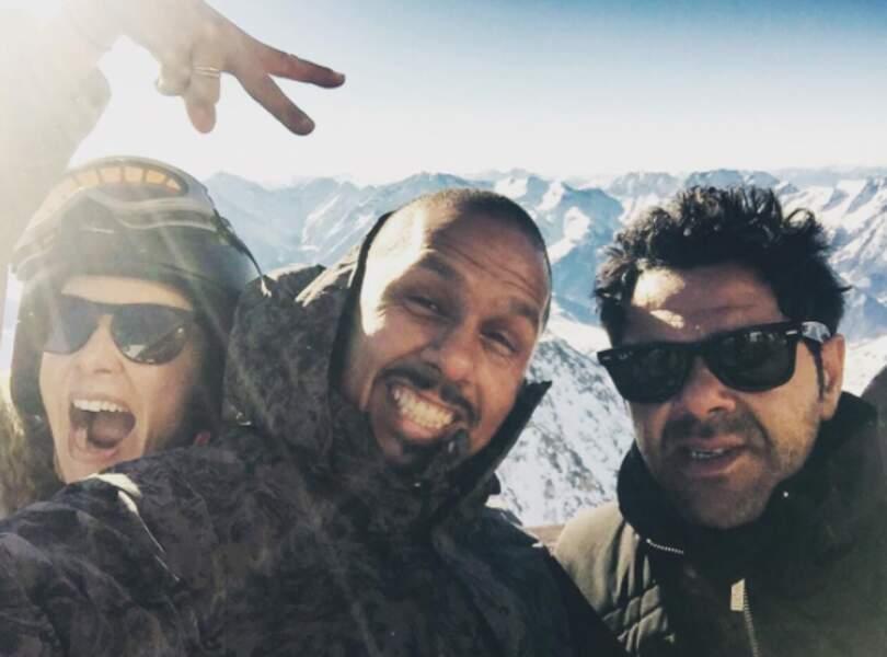 Jamel est actif sur Instagram, ici au Festival de l'Alpes d'Huez en janvier 2017