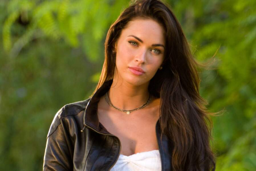 Megan Fox (Transformers 2 - La Revanche) : regardez là dans les yeux...