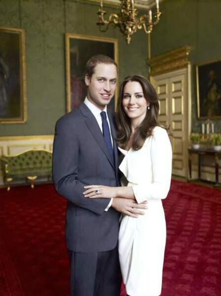 2010 : la photo officielle des fiançailles