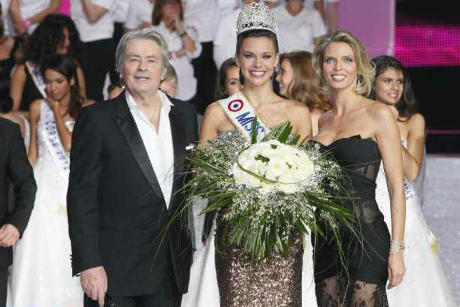 Alain Delon, Miss France et Sylvie Tellier