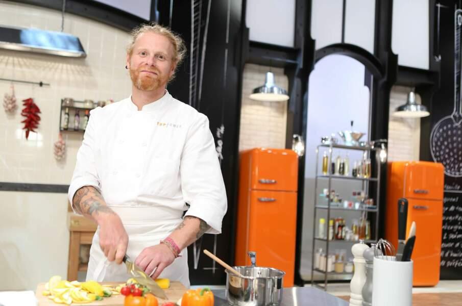 Nicolas Pourcheresse, 43 ans, Lille - chef de son restaurant