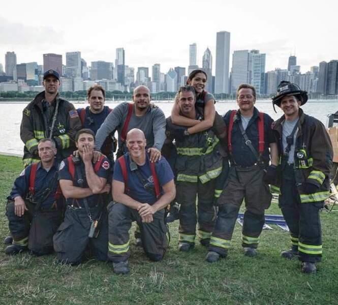 La team des pompiers sexy de Chicago Fire a encore une fois fait grimper la température cette année.