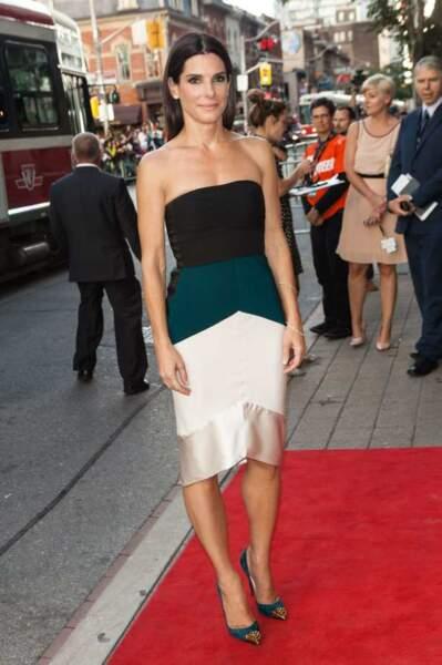Après son show à Venise, Sandra Bullock s'est calmée