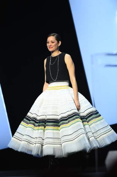 La robe de Marion Cotillard a créé le buzz…