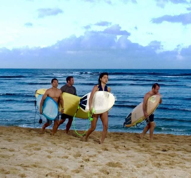Pendant ce temps là, l'équipe d'Hawaii 5-0 mène la belle vie