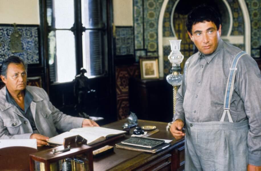 Ariel Zeitoun le dirige dans Le nombril du monde avec Michel Boujenah (1993)