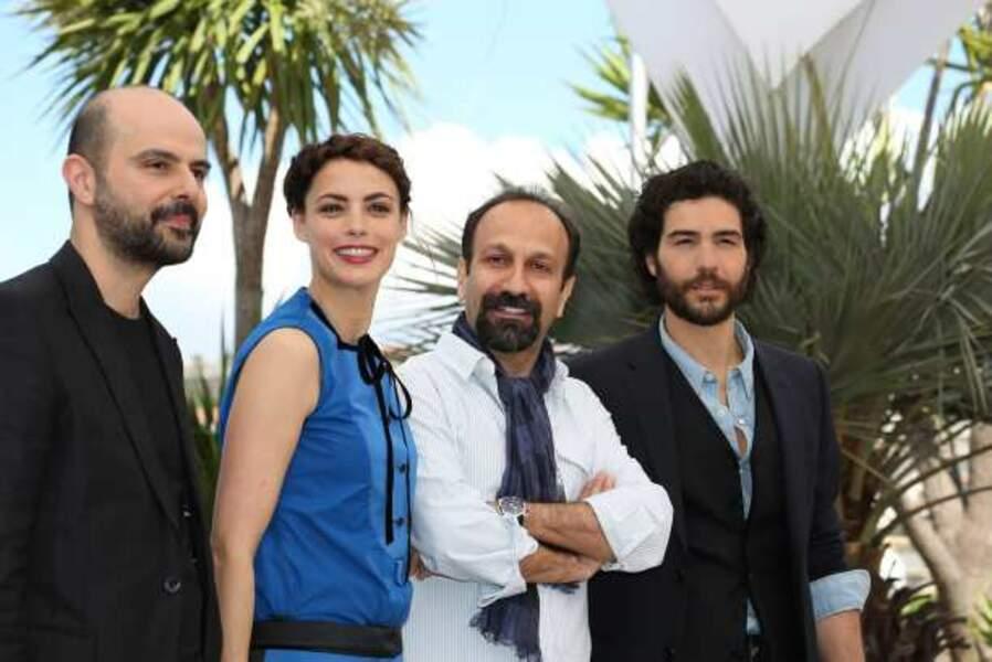 L'équipe du film Le Passé d'Asghar Farhadi