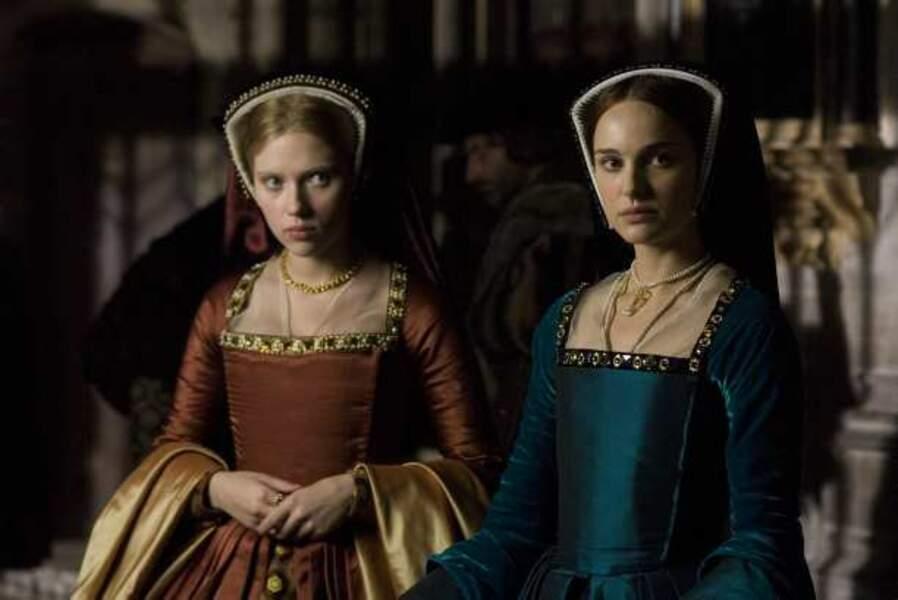 En costumes dans Deux Sœurs pour un roi (2008)