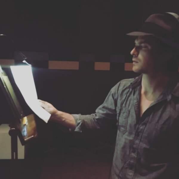 Oui, le tournage de Vampire Diaries est terminé, mais Ian Somerhalder a encore un peu de post-production à faire