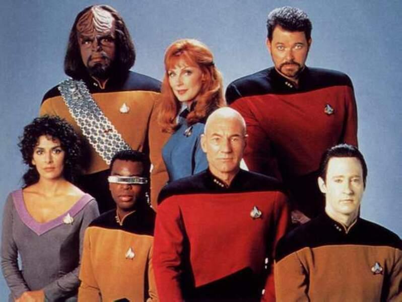 Star Trek la nouvelle génération (série 1987-1994) (avec Patrick Stewart)
