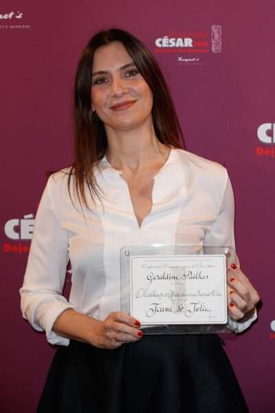 Géraldine Pailhas - catégorie meilleur second rôle féminin pour Jeune et jolie