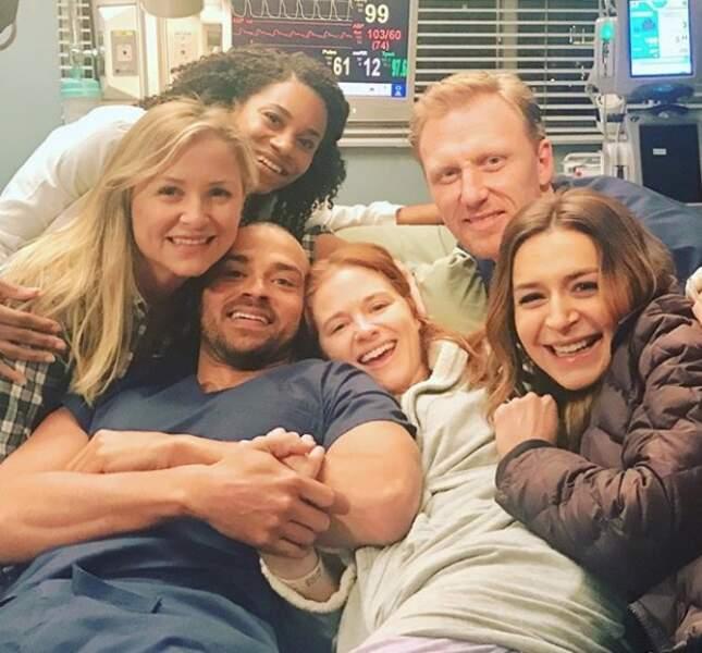 Les acteurs de Grey's Anatomy font leurs adieux à Jessica Capshaw et Sarah Drew