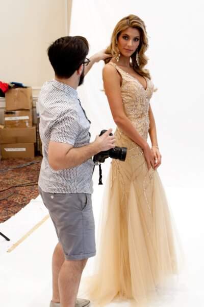 Notre Miss France a toujours un coiffeur à ses côtés