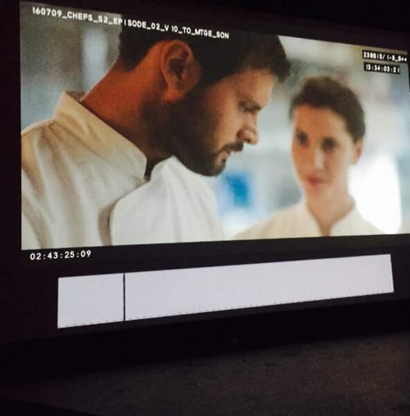 La saison 2 de Chefs sera bientôt diffusée sur France 2 et les acteurs assurent la post-production
