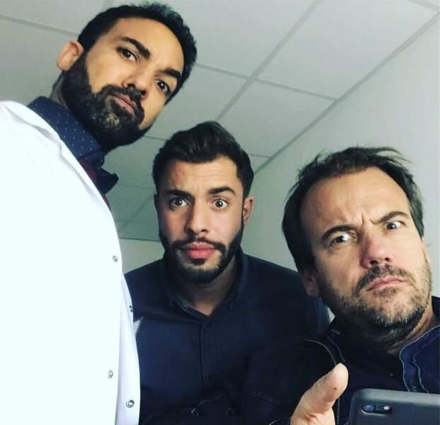 Quel trio !