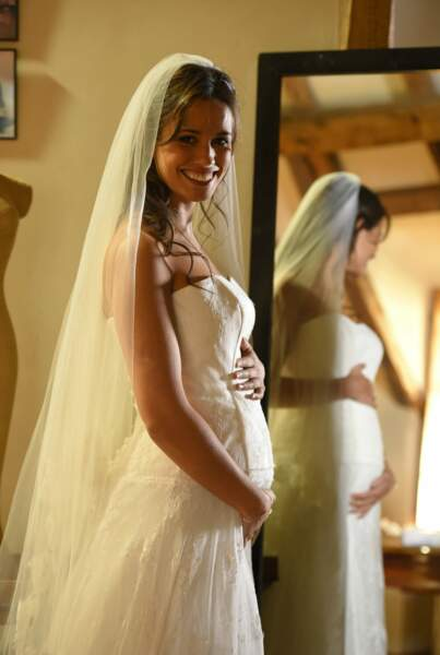 Une mariée radieuse