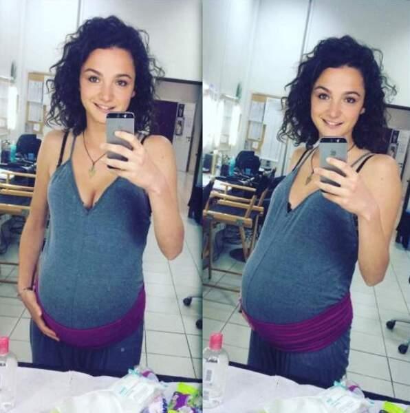Dans Plus belle la vie, Emma a découvert les joies de la maternité...