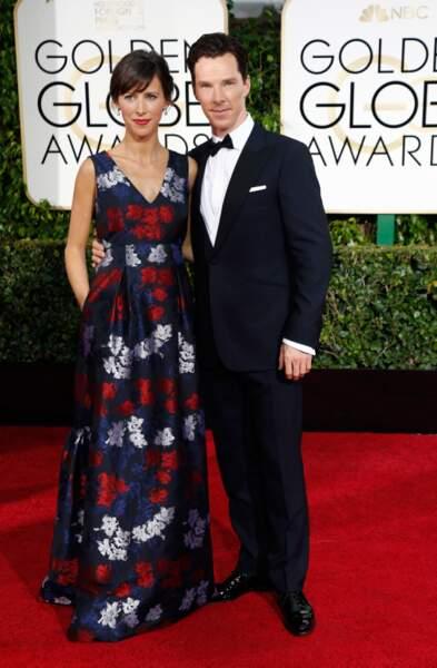 Benedict Cumberbatch et Sophie Hunter, fiancés et bientôt parents