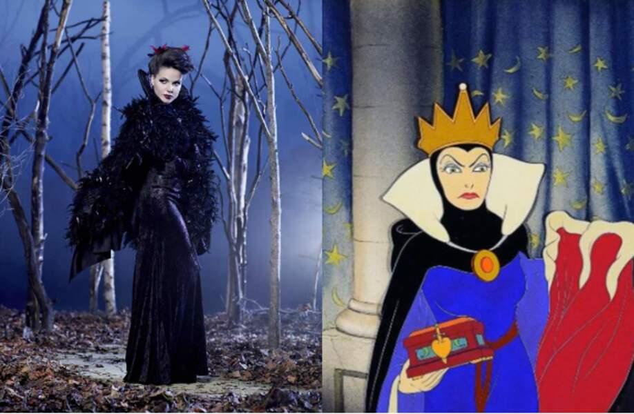 La méchante reine (Blanche-Neige et les sept nains)