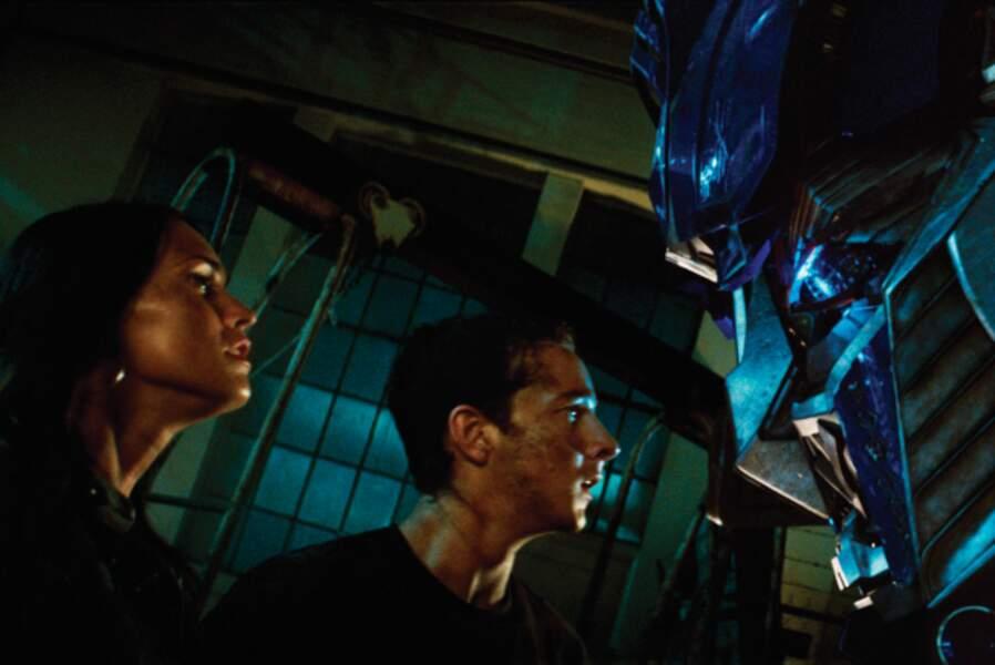 Megan Fox et Shia LaBeouf, le couple vedette de Transformers