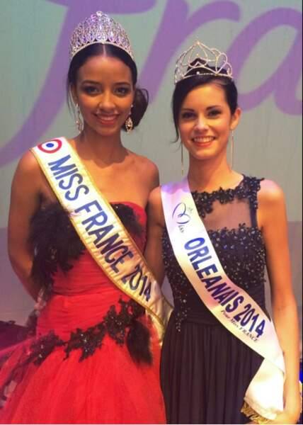 Soléne Salmagne est Miss Orleanais 2014 et succède ainsi Flora Coquerel