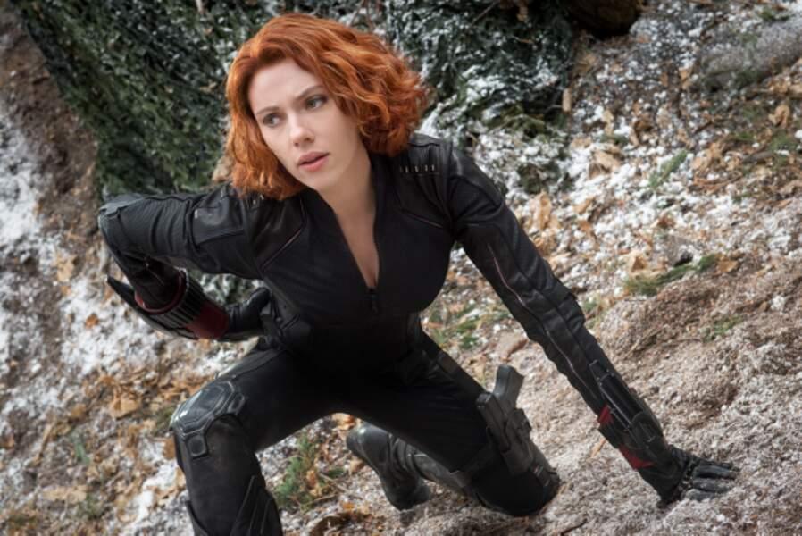 La belle renfile sa combi de cuir dans Avengers : l'Ère d'Ultron (2015)