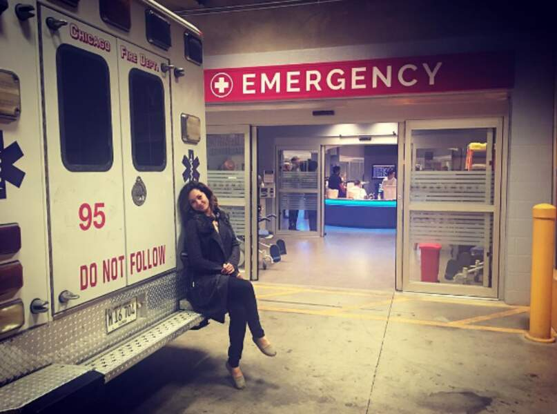 Un petit tour en ambulance avec les acteurs ?