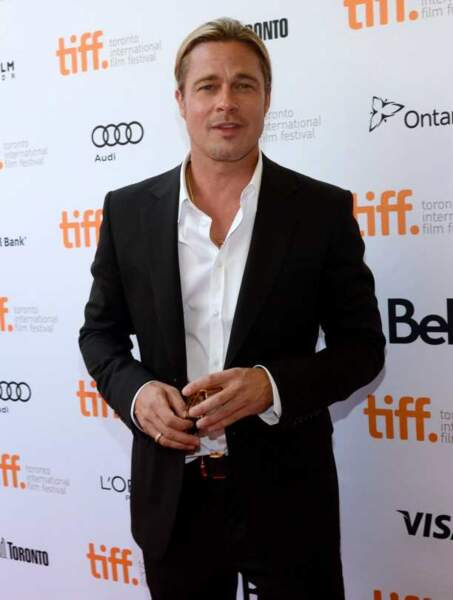 Brad Pitt sans Angelina