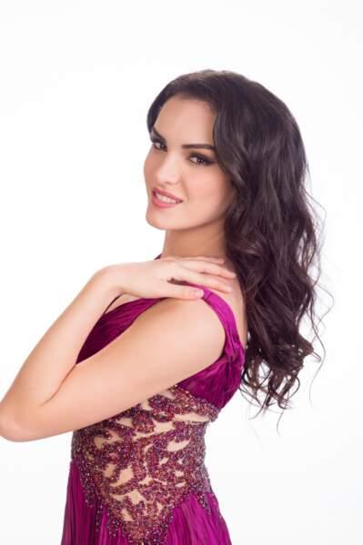 Zhaneta Byberi, Miss Albanie 2014