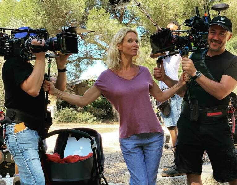 En tout cas, avec Rebecca Hampton, les tournages se passent dans la bonne humeur