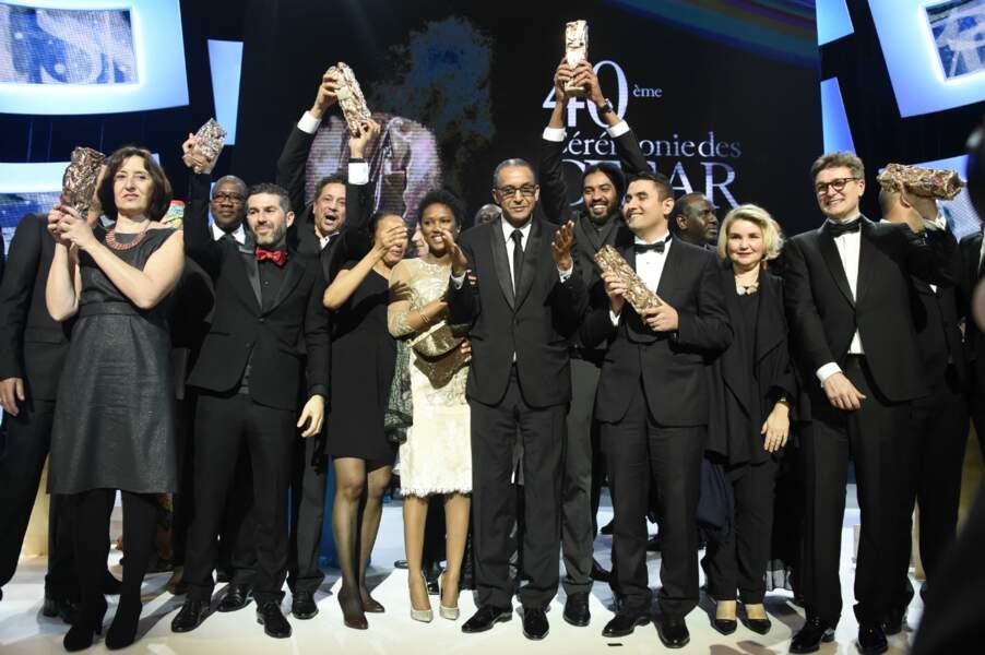 Les vainqueurs de cette 40e édition sont tous montés sur scène