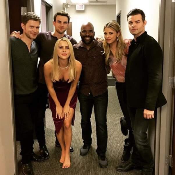 Toute la famille de The Originals réunie avant de lancer leur ultime saison d'aventures...