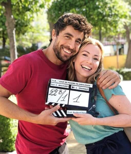 Puis l'actrice fait des infidélités à DNA pour rejoindre Agustin Galiana sur le tournage d'un nouveau téléfilm