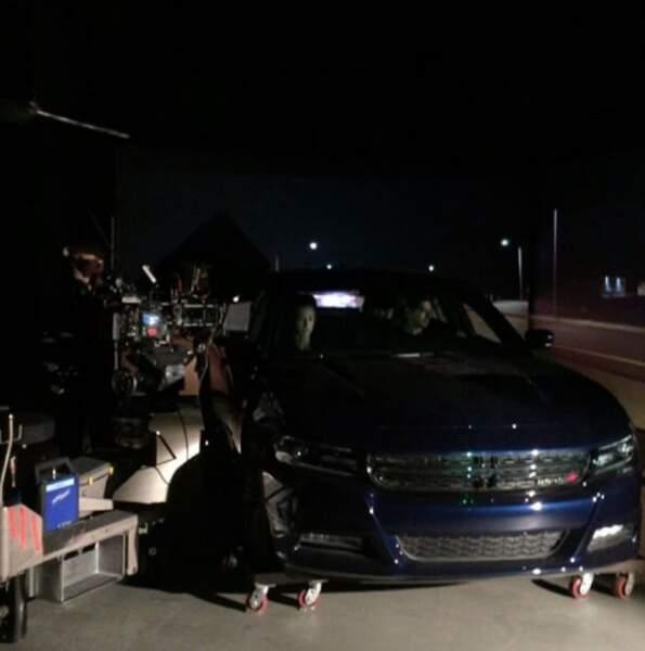 Tournage de nuit et en voiture pour NCIS