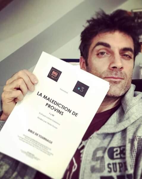 Quand il sera réveillé, Gil Alma commencera le tournage de La Malédiction de Provins