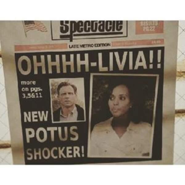 D'après ce journal, on frôle le... Scandal !