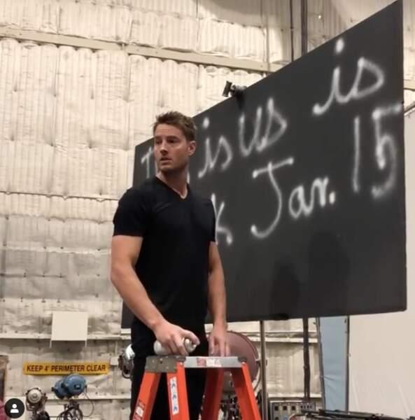 De son côté, Justin Hartley, qui joue Kevin, est prêt à tout pour annoncer le retour de This is Us