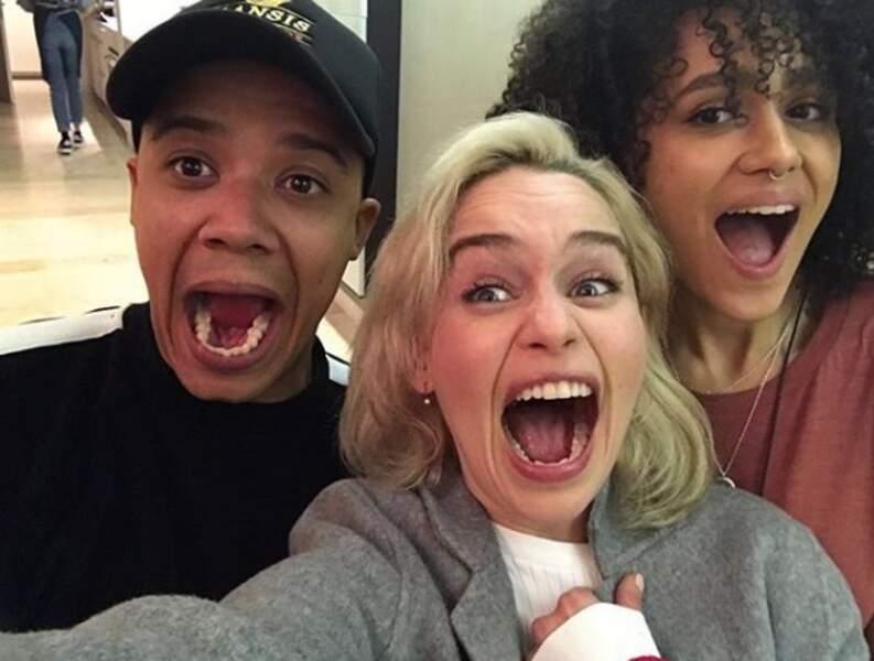 Ver Gris, Dany et Missandei : le trio gagnant de la série !