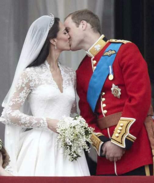 Un baiser observé par des milliards de téléspectateurs (29 avril 2011)