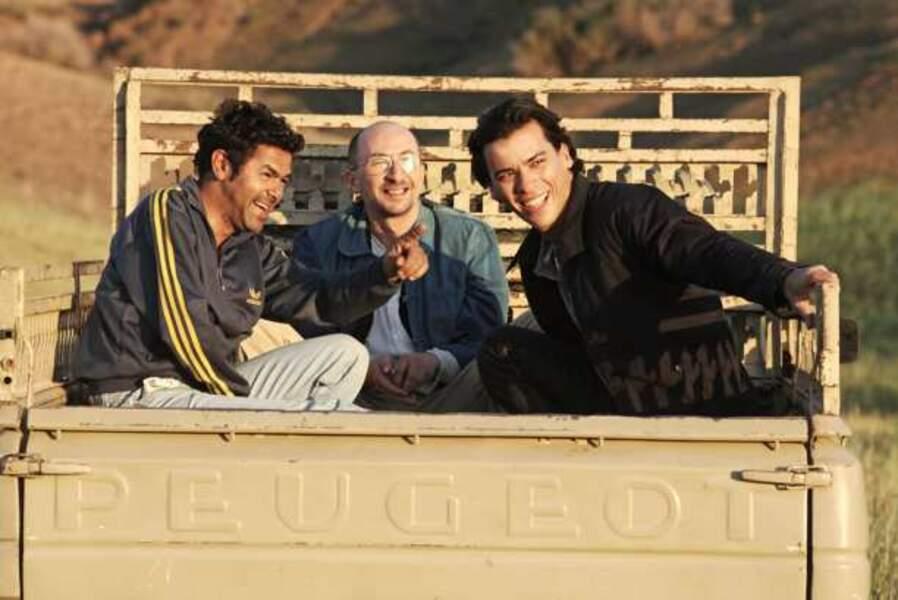 Avec Fatsah Bouyahmed et Tewfik Jallab