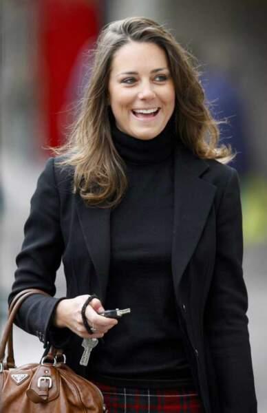2008 : la fiancée de William au naturel